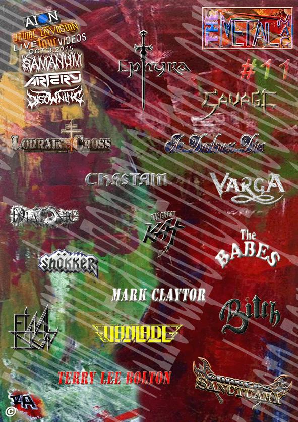 ©The Metal Mag N11 Cover