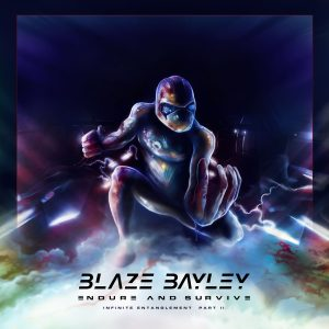 Blaze Bayley : 'Endure and Survive' CD LP Digital 3rd March 2017 Blaze Bayley Recording