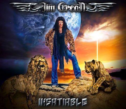 "Jim Crean ""Insatiable' CD 2016 Rocker Records"
