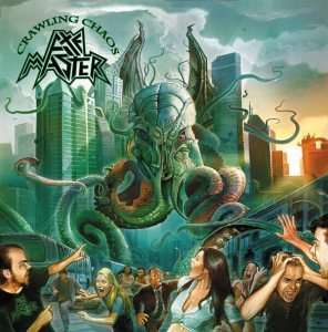 "Axemaster : ""Crawling Chaos"" CD November 24th 2017 Pure Steel Records."