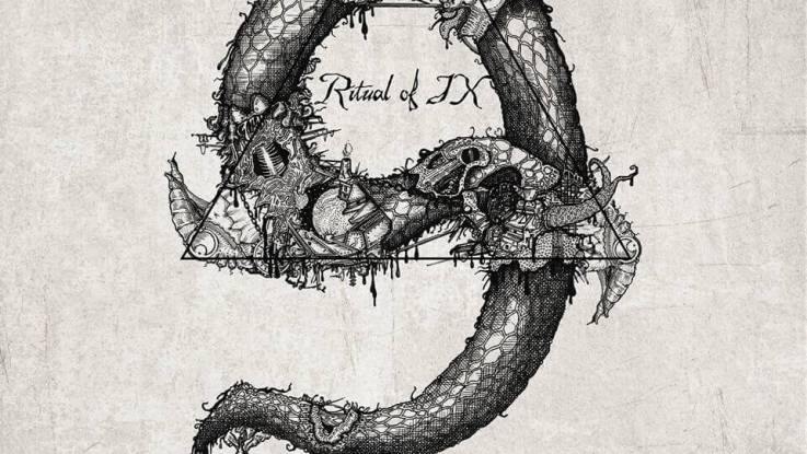 """Ritual of odds : """"Ritual of IX"""" CD February 3rd, 2017 Swimming With Sharks Records."""
