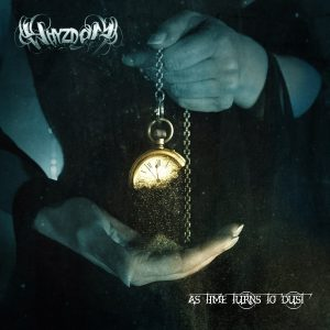 """Whyzdom : """"As Time Turns To Dust"""" Digipack CD 6th April 2018 Scarlet Records ."""