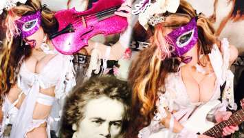 "The Great Kat : ""Beethoven's 5th Symphony "" Digital Single 22nd March 2018 TPR Music."