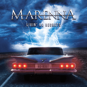 "Marenna : ""Livin' No Regrets"" CD February 2018 Sony Music."