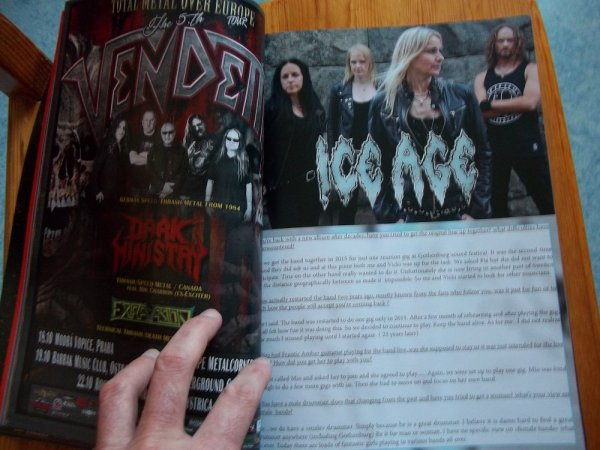 ©The Metal Mag N°19 with Ice Age