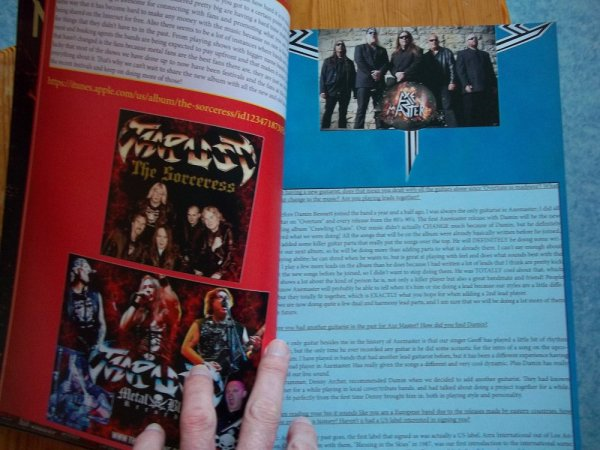 ©The Metal Mag N°19 with Thrust and Axe master