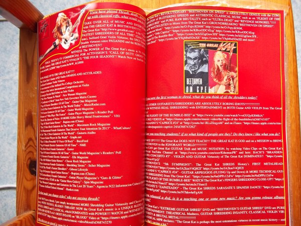 The Metal Mag N°11 with The Great Kat
