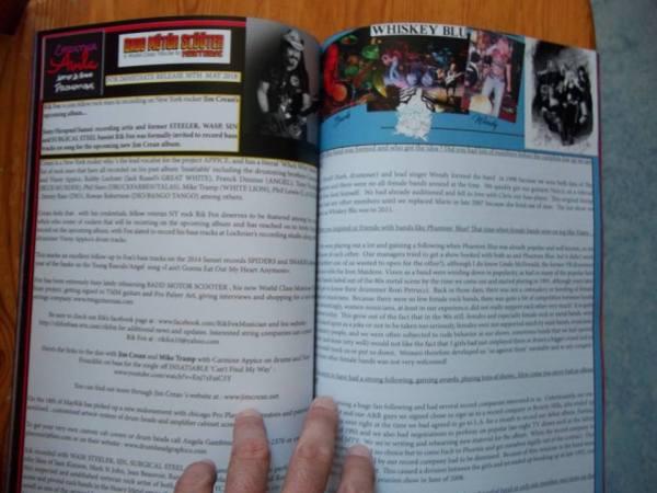 The Metal Mag N°23 with Rik fox - Whiskey blu