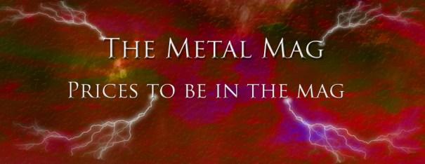 The Metal Mag Payment infoThe Metal Mag Payment info