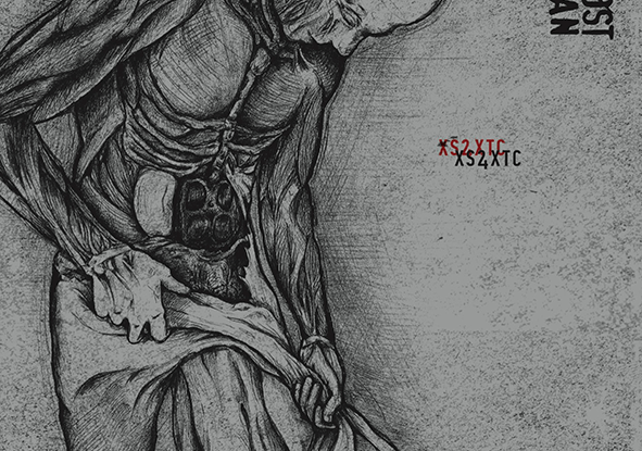 """Almost Human : """"XS4XTC"""" Digipack CD 1st February 2019 Fastball Music / Normosis Records."""