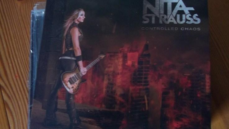 "Nita Strauss : ""Controlled Chaos"" Digipack CD 16th November 2018 Sumerian Records."