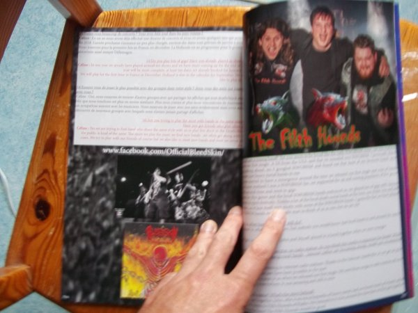 ©The Metal Mag N°25 with Bleedskin and The Fifth Hounds