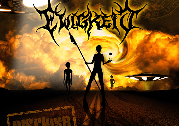 """Ewigkeit : """"DISClose"""" Digital 23rd February 2019 CD 23rd March 2019 Death To Music Productions."""