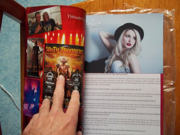 ©The Metal Mag N°25 with Diamond Head and Mia Klose