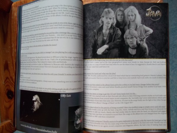 ©The Metal Mag N°24 with End Of Melancholy and Java