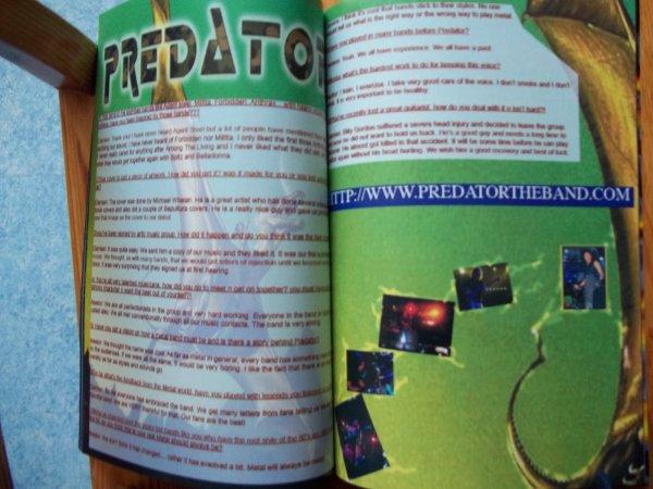 ©The Metal Mag N°2 Predator