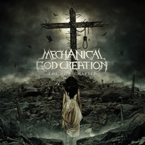 """Mechanical God Creation : """"the New Chapter"""" CD 29th March 2019 The Goatmancer records."""