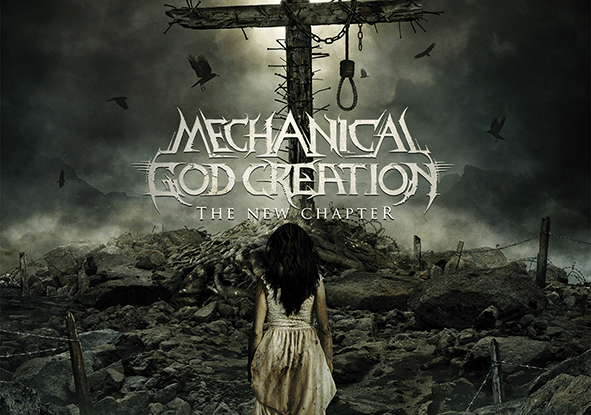 "Mechanical God Creation : ""the New Chapter"" CD 29th March 2019 The Goatmancer records."