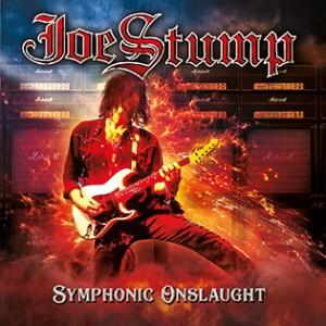 """Joe Stump : """"Symphonic Onslaught"""" CD 21st March 2019 Lion Music."""