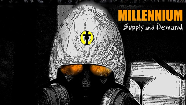 """Millennium : """"Supply and Demand"""" CD 26th April 2019 Heaven & Hell Records."""