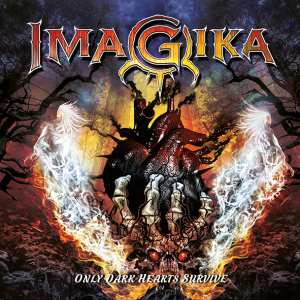 """Imagika : """"Only Dark Hearts Survive"""" CD 13th September 2019 Dissonance Productions."""