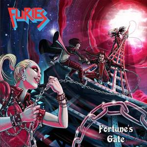 """Furies : """"Fortune's Gate"""" CD 16th Octobre 2020 Self Released."""