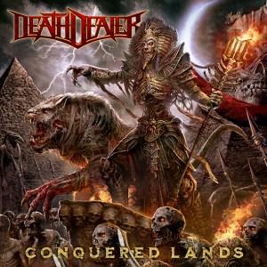 """Death Dealer : """"Conquered Lands"""" CD & LP 13rd November 2020 Steel Cartel Records."""