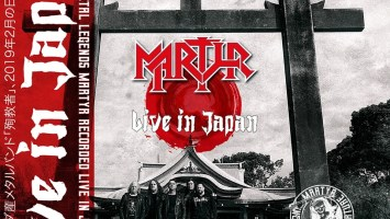 "Martyr : ""Live In Japan in February 2019 Osaka "" CD June 2019 Pt78 Records and Rock Stakk Records Japan."