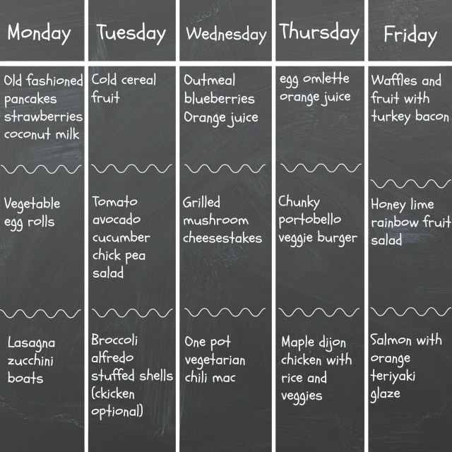 Wednesday's-weekly-menu-#2