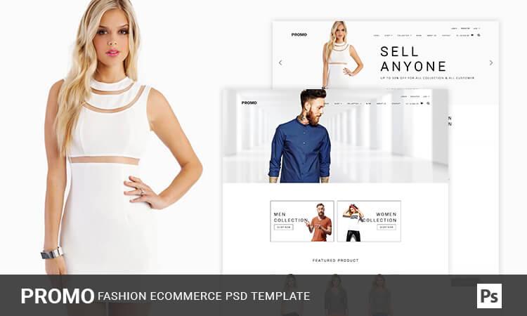 Promo - Premium Fashion eCommerce PSD Template | ThemeTidy