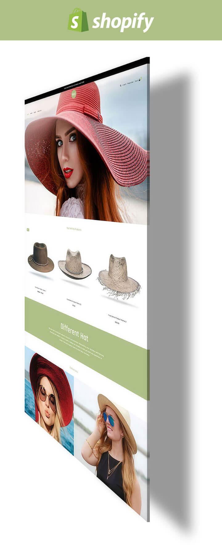 4790184b Hat - Fashion Hats Styles for Men & Women Responsive Shopify Theme
