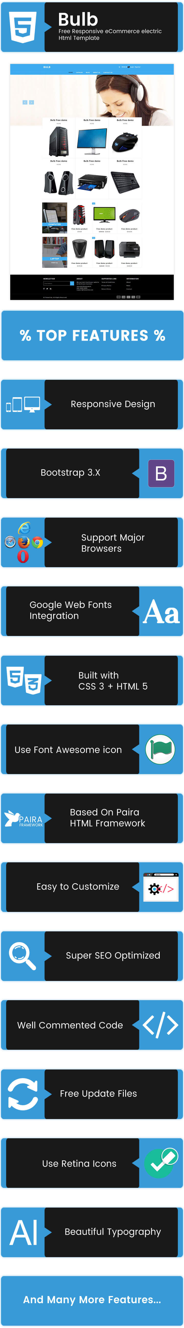 Generous Html Template Ecommerce Images - Professional Resume ...
