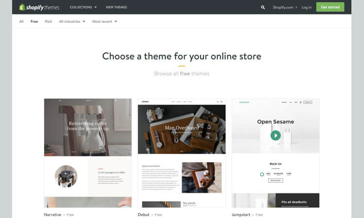 10 free shopify themes download for your online store themetidy