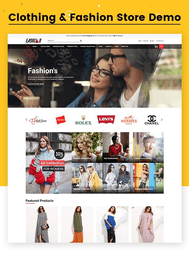 Clothing & Fashion Store