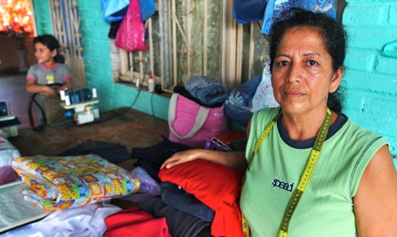 Catalina, a life-long dressmaker, is the recipient of an interest free loan through Investours