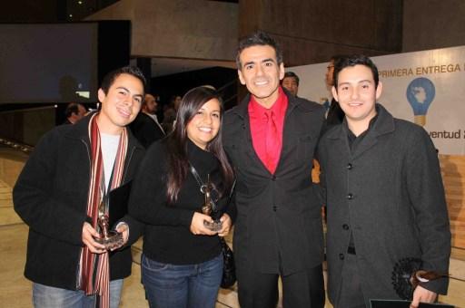 Award winners at First Annual Youth & Innovation Awards Tijuana Inovadora 2011