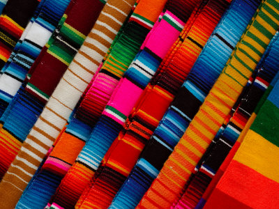 Textile show in Mexico