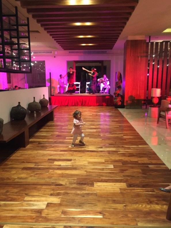 Nightly entertainment at Hyatt Ziva Puerto Vallarta © The Mexico Report