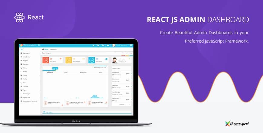 18 Free Premium Reactjs Admin Templates