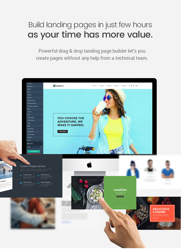 LeadGen - Multipurpose Marketing Landing Page Pack with Page Builder 8