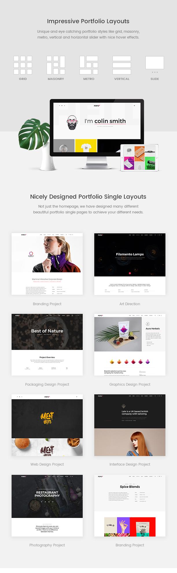 Pofo - Creative Agency, Corporate and Portfolio Multi-purpose Template - 12