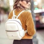 White rhino bags teddy bomber jacket