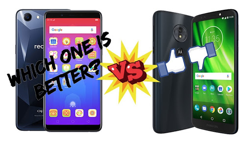 Oppo Realme 1 and Moto G6 Smartphone comparison