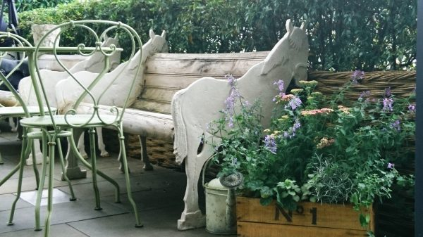 A quirky bench