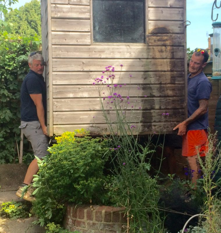 Moving your shed may be better than buying a new one