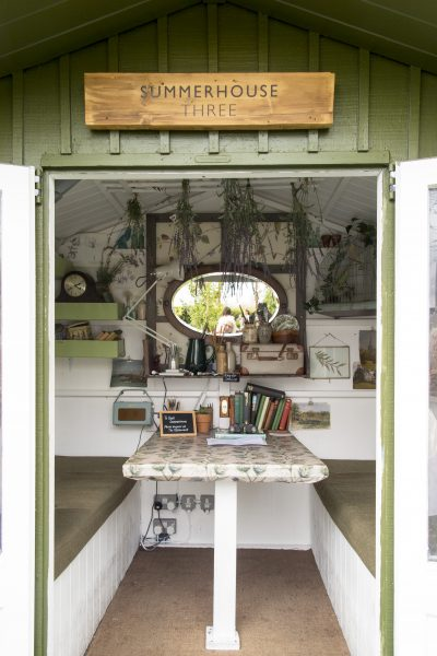 Summerhouse garden shed