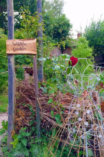 Re-wilding and gardens