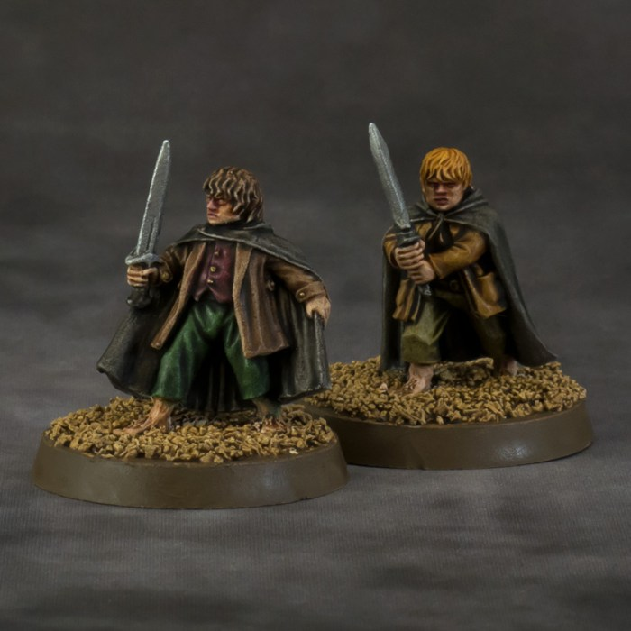 Lord of the Rings – Frodo and Sam