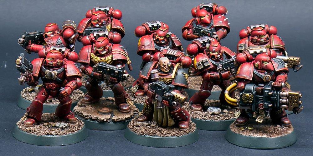 Blood Angels Tactical Squad Lorenzo