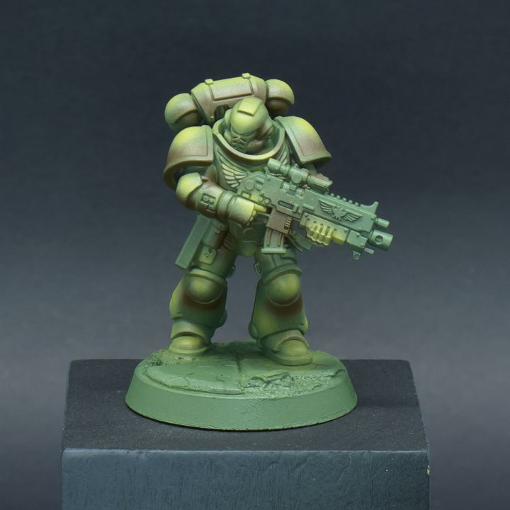 How to paint Raptors Space Marines - Step 3a